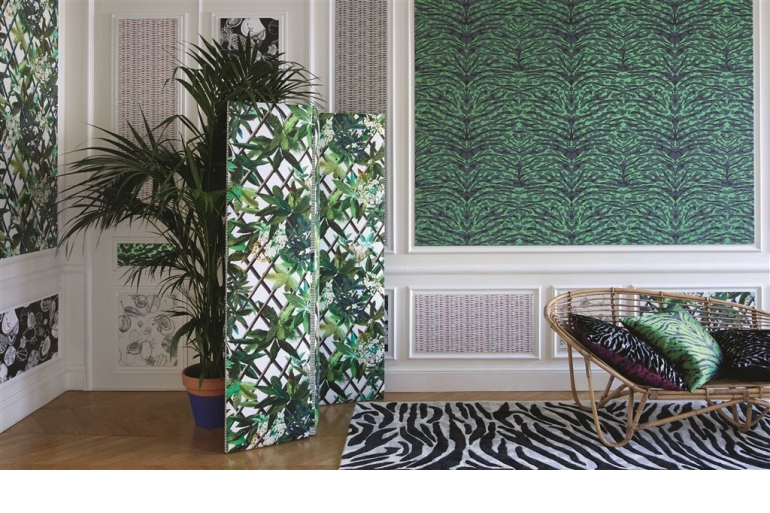 designers guild christian lacroix vorh nge neuheiten. Black Bedroom Furniture Sets. Home Design Ideas