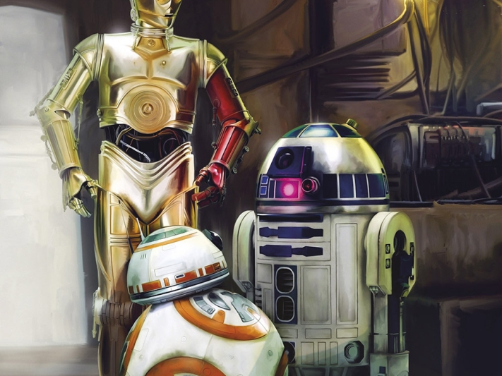Star Wars Three Droids