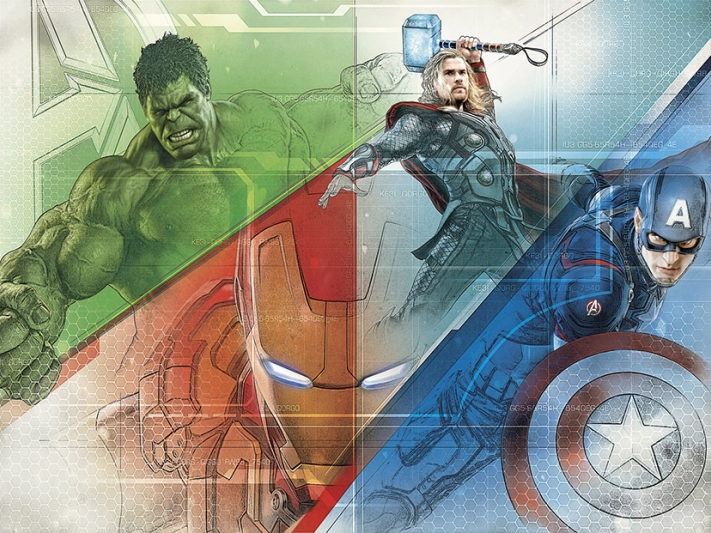 Avengers Graphic Art